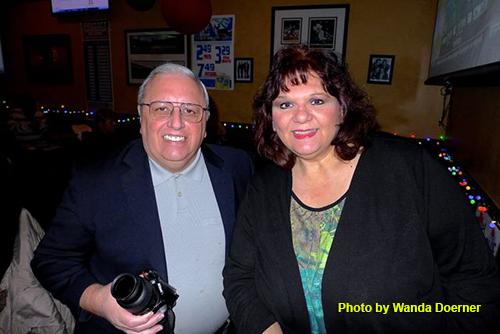 Raymond Previ and Corinne Aguilar