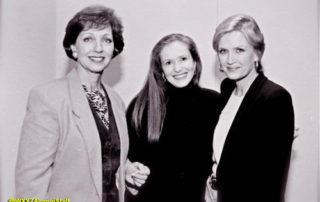 Robie Timmons, Wanda Doerner and Diane Sawyer