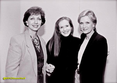 Robie Timmons, Wanda Doerner and Diane Sawyer