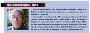Bob Dear - Obituary
