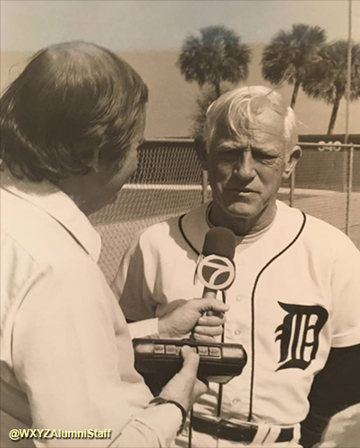 John Gross - Sparky Anderson - Detroit Tigers