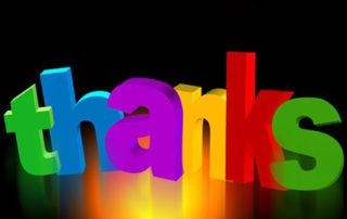 Thanks - Thank You