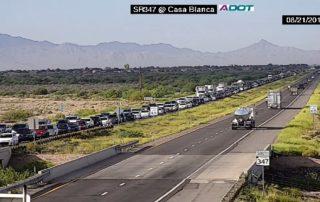 Arizona 347 Highway Accident