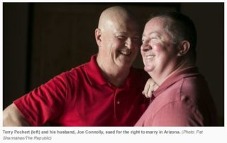 Terry Pochert and Joe Connolly