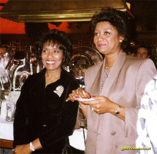 Carnell Sessoms-Jones and Doris Biscoe