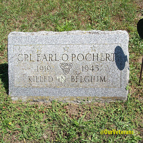 Earl Pochert Grave Marker - Port Hope, Michigan