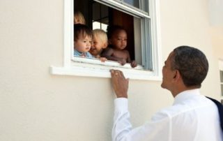 Barack Obama with Children
