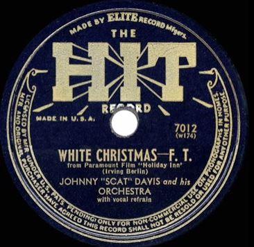 "Johnny ""Scat"" Davis - White Christmas"