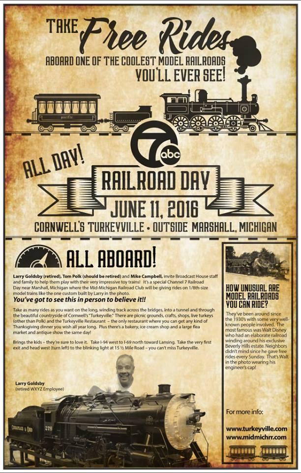 Cornwell's Turkeyville - Model Train Event
