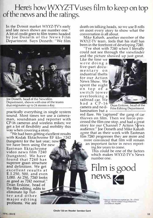 Film at WXYZ