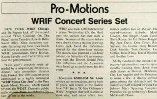 Bill Board - June 12, 1982