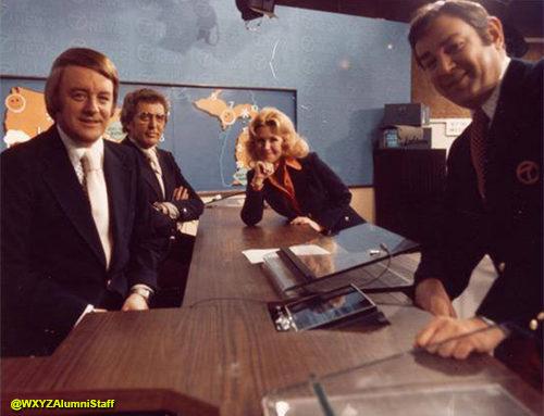 A Great News Team – Circa 1980s at WXYZ