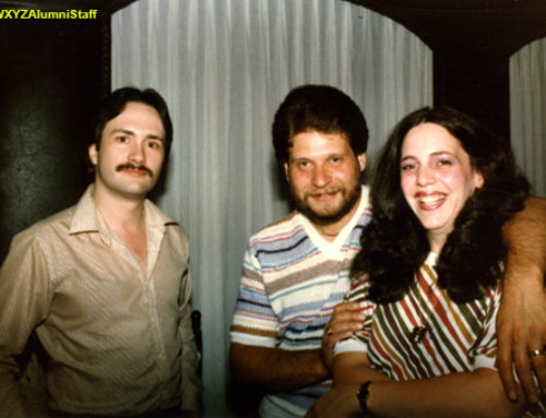 Dwight Major with Harry and Eileen Greener
