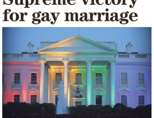 Supreme Court Rules on Gay Marriage – June 27, 2015