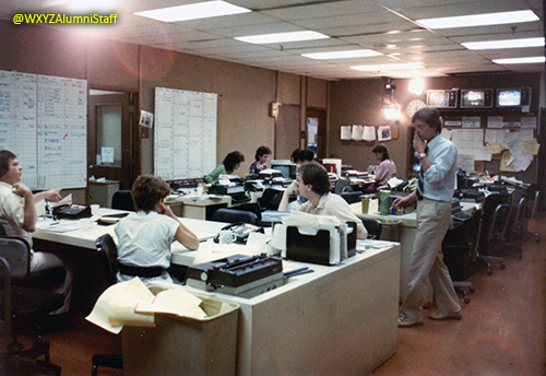 The WXYZ Newsroom - 1983