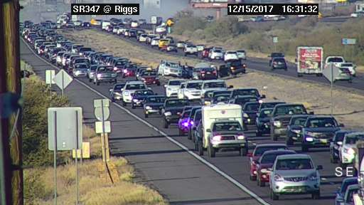 AZ 347 Accident - December 15, 2017