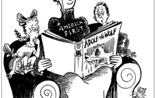 Dr. Seuss - Immigration Cartoon