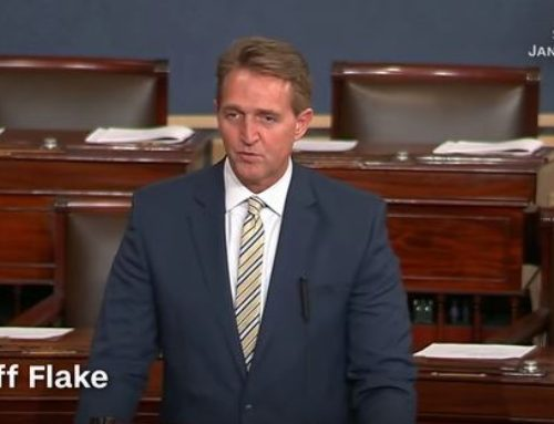 Republican Senator Rebukes the President
