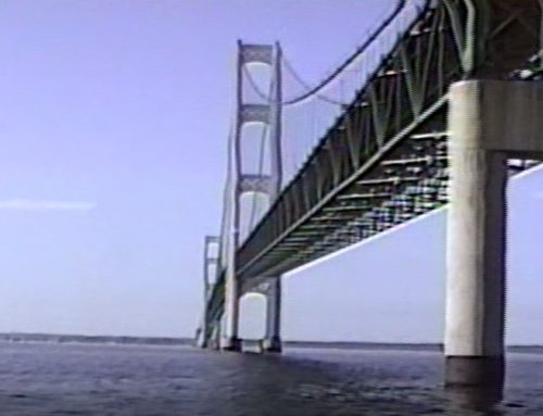 Mackinac Bridge Dive Trip – The Michigan Sea Snoopers – July 1991